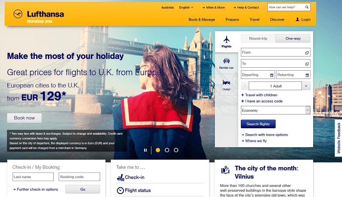 lufthansa-homepage-example