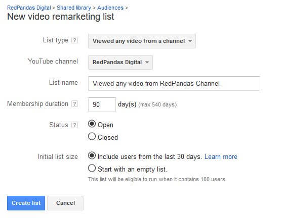 google-video-remarketing-lists